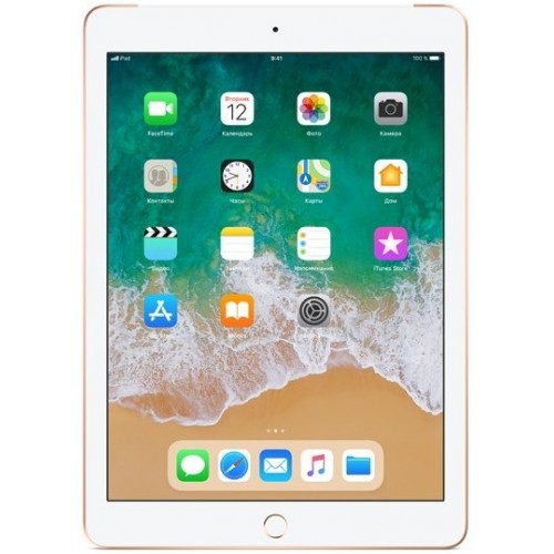 Apple iPad 2018 128GB LTE MRM22 (золотой)