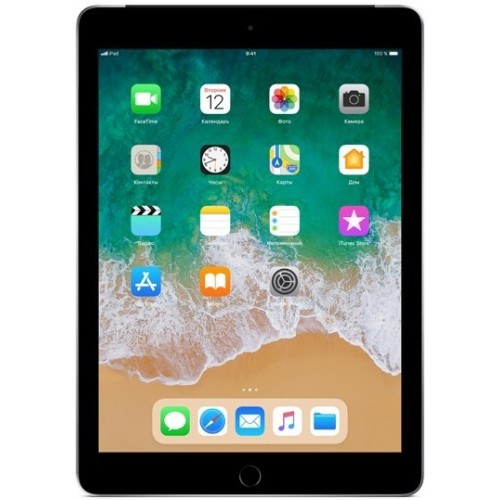 Apple iPad 2018 32GB LTE MR6N2 (серый космос) фото 1