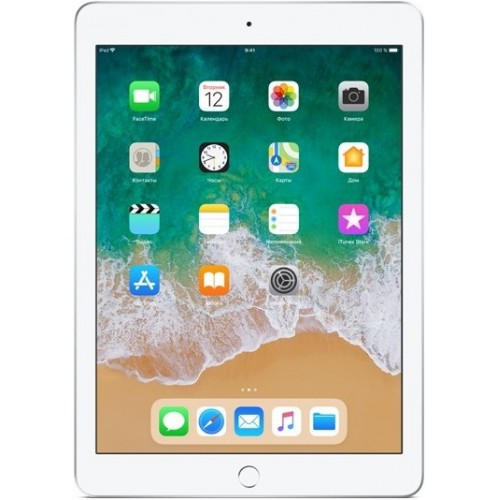 Apple iPad 2018 32GB LTE MR6P2 (серебристый) фото 1