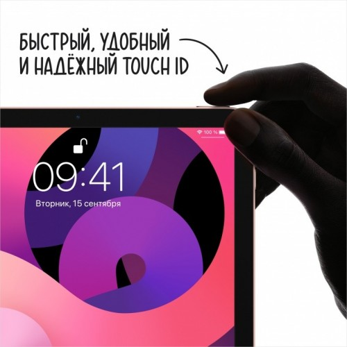 Apple iPad Air 2020 64GB LTE (серый космос) фото 2