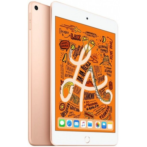 Apple iPad mini 2019 256GB LTE MUXE2 (золотой) фото 1