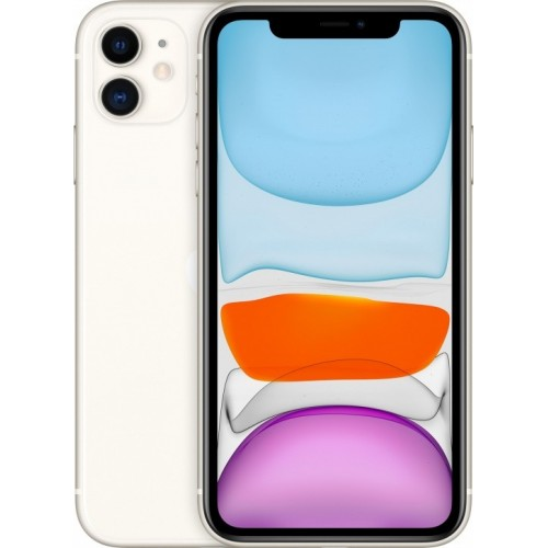 Apple iPhone 11 128GB Dual SIM (белый) фото 1