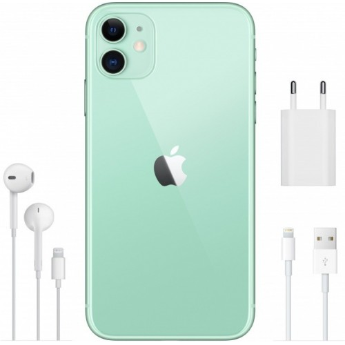 Apple iPhone 11 256GB Dual SIM (зеленый) фото 4