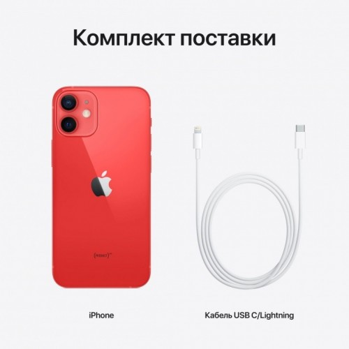 Apple iPhone 12 mini 128GB (PRODUCT) RED™ фото 3