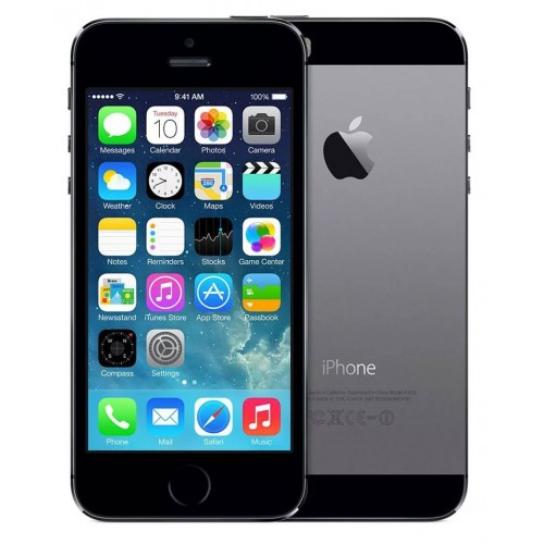 Apple iPhone 5s 32GB Space Gray фото 1