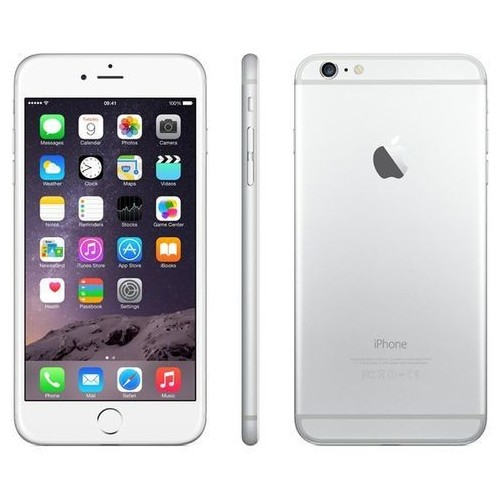 Apple iPhone 6 Plus 16GB Silver фото 2