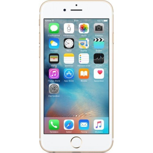 Apple iPhone 6s 128GB Gold фото 3