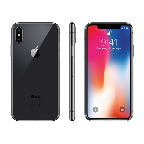Apple iPhone X 256GB (серый космос) фото 3