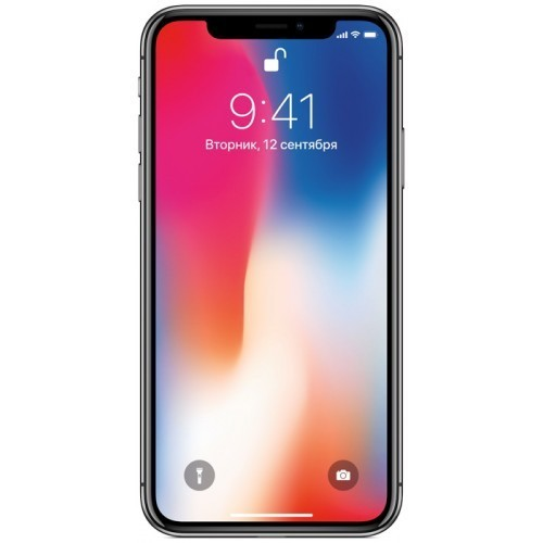Apple iPhone X 64GB (серебристый) фото 1
