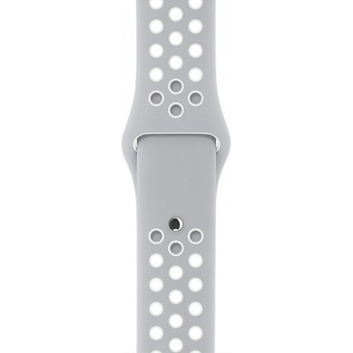 Apple Watch Nike+ 38mm Silver with Flat Silver/White Nike Band [MNNQ2] фото 3