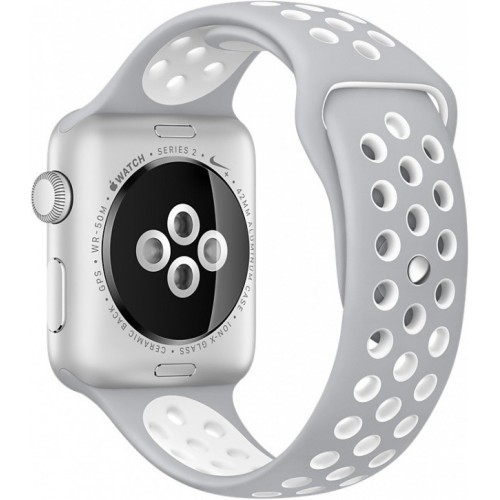 Apple Watch Nike+ 38mm Silver with Flat Silver/White Nike Band [MNNQ2] фото 4
