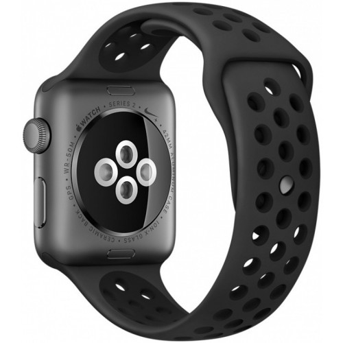 Apple Watch Nike+ 38mm Space Gray with Black Nike Sport Band [MQ162] фото 3