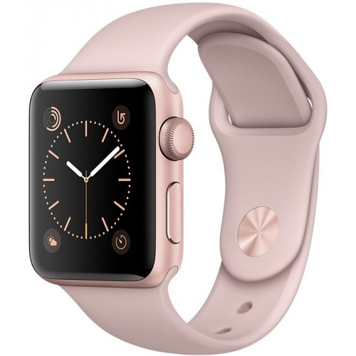 Apple Watch Series 1 38mm Rose Gold with Pink Sand Sport Band [MNNH2] фото 1
