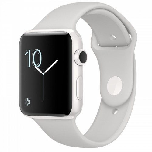 Apple Watch Series 2 38mm White Ceramic with Cloud Sport Band [MNPF2]