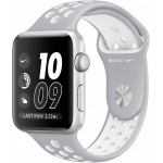 Apple Watch Nike+ 38mm Silver with Flat Silver/White Nike Band [MNNQ2] фото 1