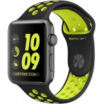 Apple Watch Nike+ 38mm Space Gray with Black/Volt Nike Band [MP082] фото 1