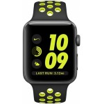 Apple Watch Nike+ 42mm Space Gray with Black/Volt Nike Band [MP0A2] фото 2