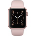 Apple Watch Series 1 38mm Rose Gold with Pink Sand Sport Band [MNNH2] фото 2