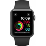 Apple Watch Series 1 42mm Space Gray with Black Sport Band [MP032] фото 2