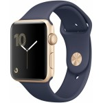 Apple Watch Series 2 42mm Gold with Midnight Blue Sport Band [MQ152] фото 1